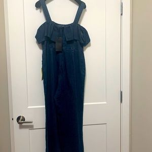 Kendall & Kylie Denim jumpsuit only at Neiman's